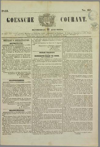 Goessche Courant 1853-08-11