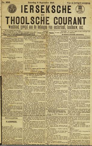 Ierseksche en Thoolsche Courant 1917-09-08
