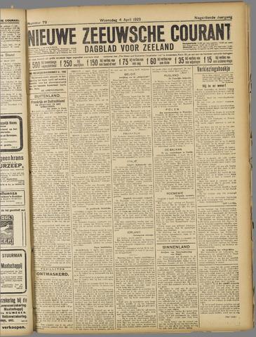 Nieuwe Zeeuwsche Courant 1923-04-04