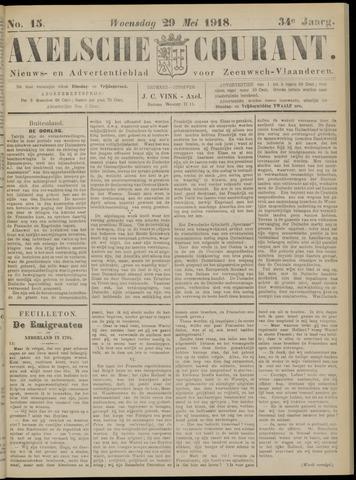 Axelsche Courant 1918-05-29