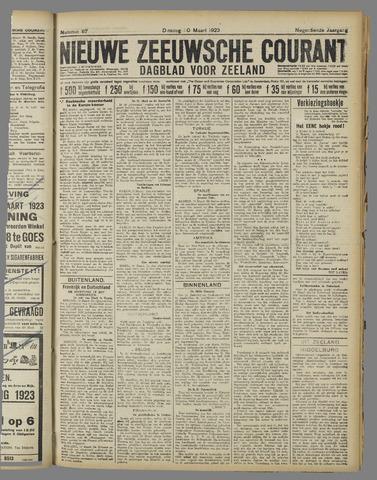 Nieuwe Zeeuwsche Courant 1923-03-20