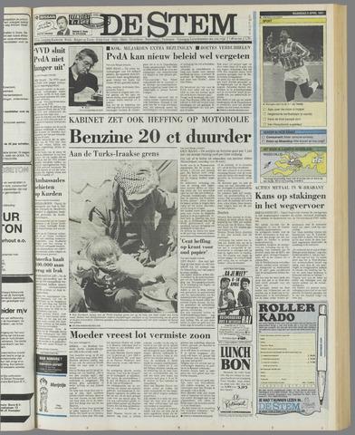 de Stem 1991-04-08