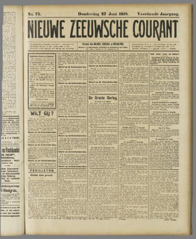 Nieuwe Zeeuwsche Courant 1918-06-27
