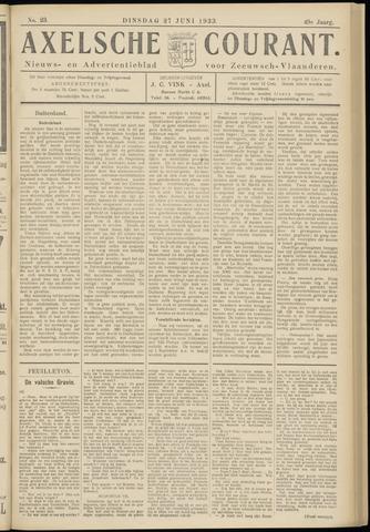 Axelsche Courant 1933-06-27