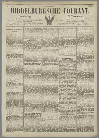Middelburgsche Courant 1895-11-21