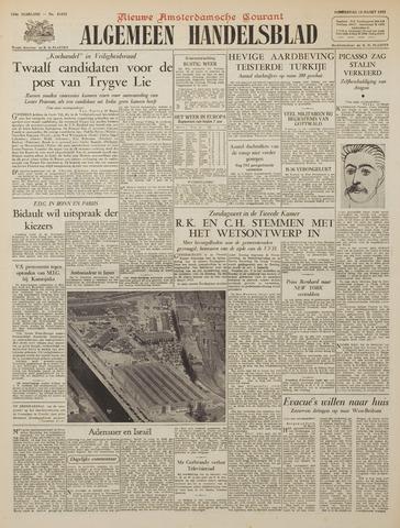 Watersnood documentatie 1953 - kranten 1953-03-19