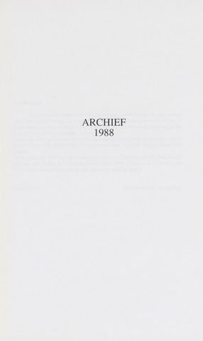 Archief 1988-01-01
