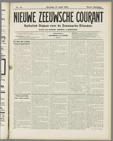 Nieuwe Zeeuwsche Courant 1905-04-15