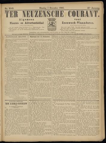 Ter Neuzensche Courant. Algemeen Nieuws- en Advertentieblad voor Zeeuwsch-Vlaanderen / Neuzensche Courant ... (idem) / (Algemeen) nieuws en advertentieblad voor Zeeuwsch-Vlaanderen 1897-12-07