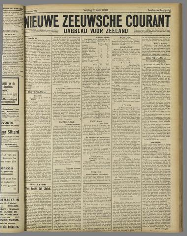 Nieuwe Zeeuwsche Courant 1920-06-11