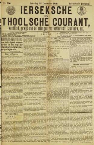 Ierseksche en Thoolsche Courant 1899-12-23