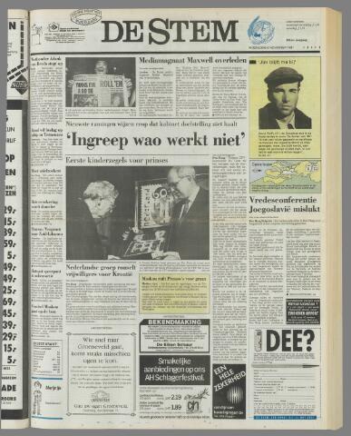 de Stem 1991-11-06