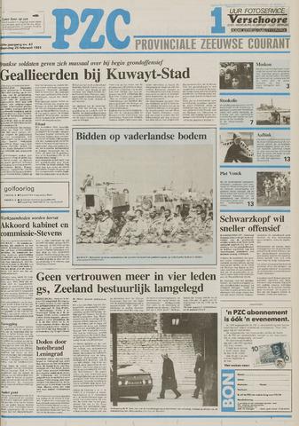 Provinciale Zeeuwse Courant 1991-02-25