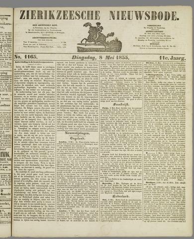Zierikzeesche Nieuwsbode 1855-05-08