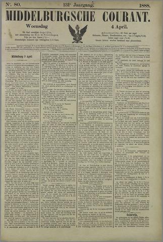 Middelburgsche Courant 1888-04-04