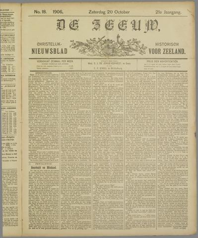 De Zeeuw. Christelijk-historisch nieuwsblad voor Zeeland 1906-10-20