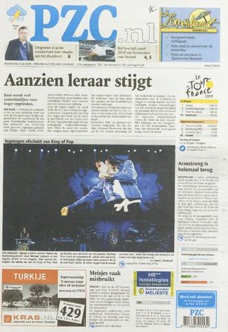 Provinciale Zeeuwse Courant 2009-07-08