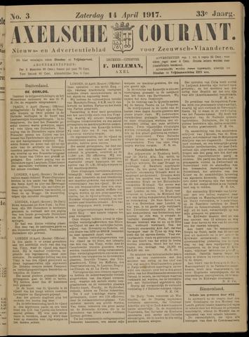 Axelsche Courant 1917-04-14
