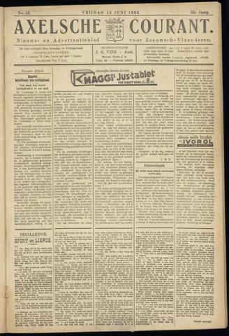 Axelsche Courant 1936-06-12