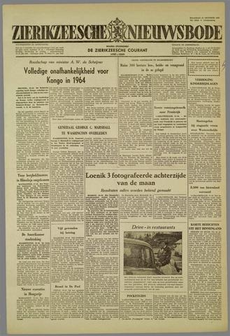 Zierikzeesche Nieuwsbode 1959-10-19