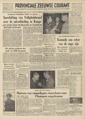 Provinciale Zeeuwse Courant 1960-07-14