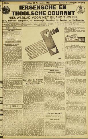 Ierseksche en Thoolsche Courant 1929-11-15