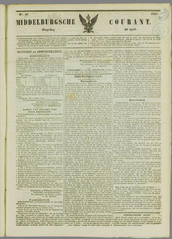 Middelburgsche Courant 1847-04-20