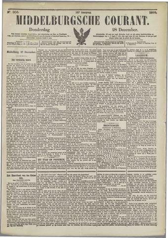 Middelburgsche Courant 1899-12-28