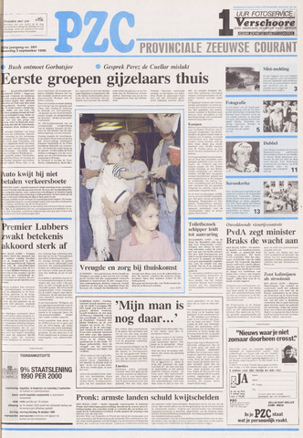 Provinciale Zeeuwse Courant 1990-09-03