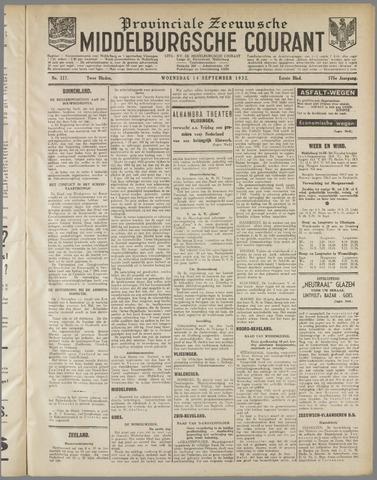 Middelburgsche Courant 1932-09-14