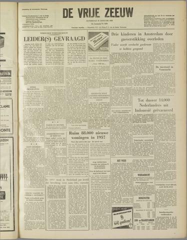 de Vrije Zeeuw 1958-01-25