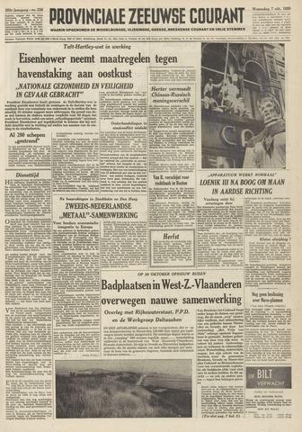Provinciale Zeeuwse Courant 1959-10-07
