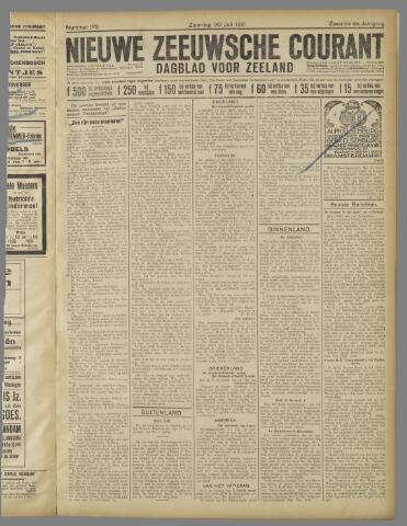 Nieuwe Zeeuwsche Courant 1921-07-30