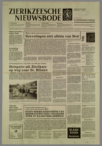 Zierikzeesche Nieuwsbode 1984-06-22