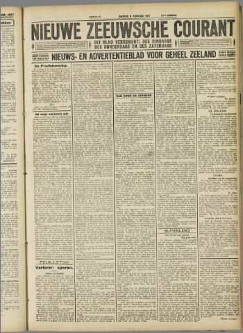 Nieuwe Zeeuwsche Courant 1927-02-08