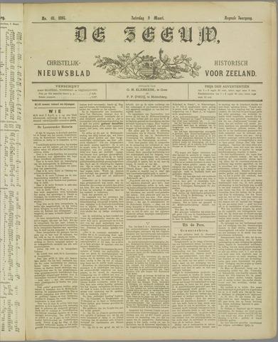 De Zeeuw. Christelijk-historisch nieuwsblad voor Zeeland 1895-03-09