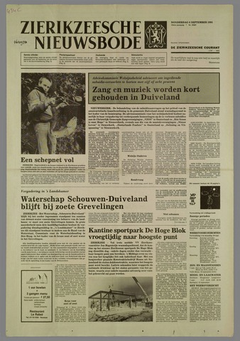 Zierikzeesche Nieuwsbode 1984-09-06