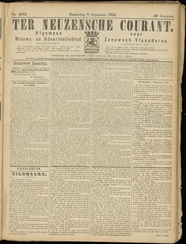 Ter Neuzensche Courant. Algemeen Nieuws- en Advertentieblad voor Zeeuwsch-Vlaanderen / Neuzensche Courant ... (idem) / (Algemeen) nieuws en advertentieblad voor Zeeuwsch-Vlaanderen 1904-09-08