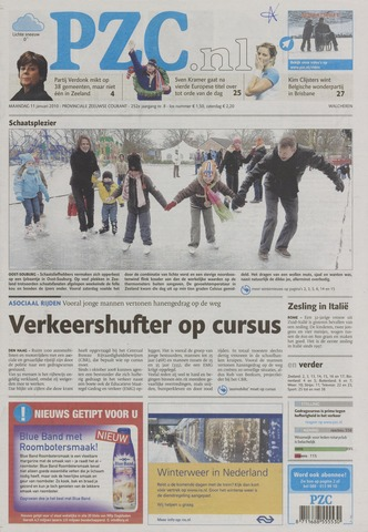 Provinciale Zeeuwse Courant 2010-01-11