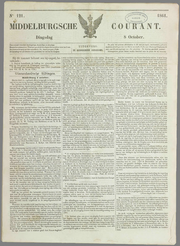 Middelburgsche Courant 1861-10-08