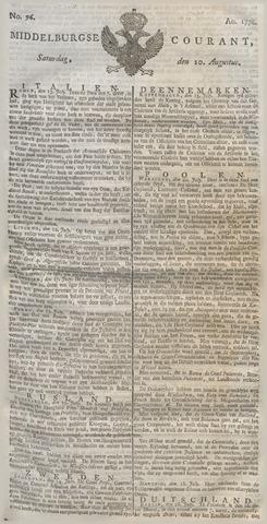 Middelburgsche Courant 1776-08-10