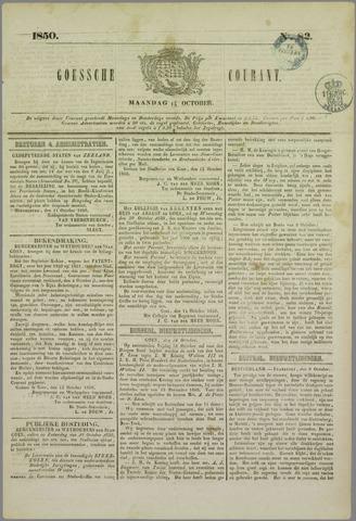 Goessche Courant 1850-10-14