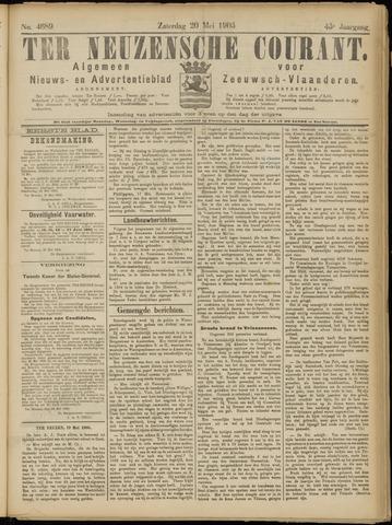 Ter Neuzensche Courant. Algemeen Nieuws- en Advertentieblad voor Zeeuwsch-Vlaanderen / Neuzensche Courant ... (idem) / (Algemeen) nieuws en advertentieblad voor Zeeuwsch-Vlaanderen 1905-05-20