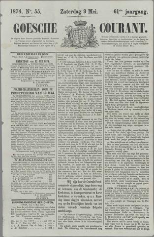 Goessche Courant 1874-05-09