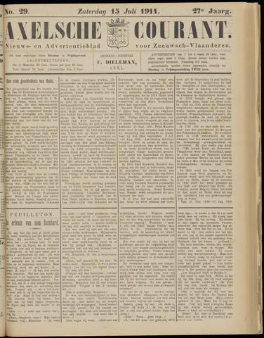 Axelsche Courant 1911-07-15
