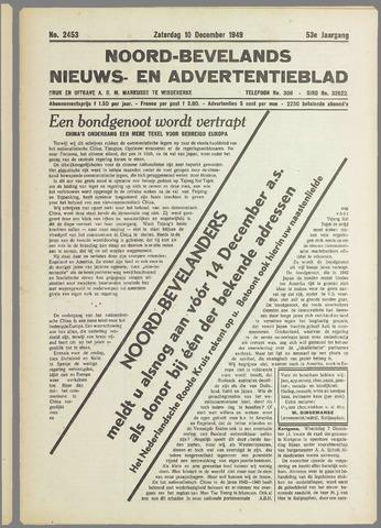Noord-Bevelands Nieuws- en advertentieblad 1949-12-10