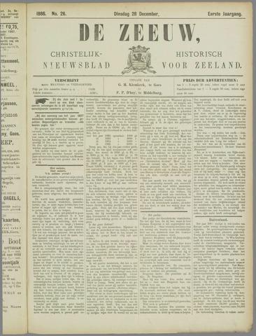 De Zeeuw. Christelijk-historisch nieuwsblad voor Zeeland 1886-12-28