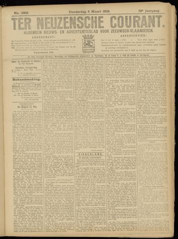 Ter Neuzensche Courant. Algemeen Nieuws- en Advertentieblad voor Zeeuwsch-Vlaanderen / Neuzensche Courant ... (idem) / (Algemeen) nieuws en advertentieblad voor Zeeuwsch-Vlaanderen 1919-03-06