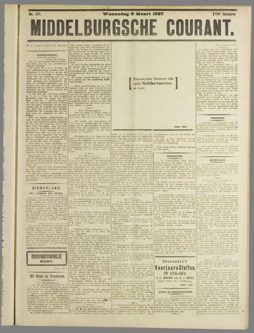 Middelburgsche Courant 1927-03-09