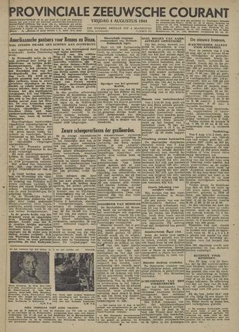 Provinciale Zeeuwse Courant 1944-08-04